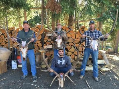 Elk Hunting with Outfitter